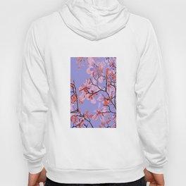 Copper Flowers on violett ground Hoody