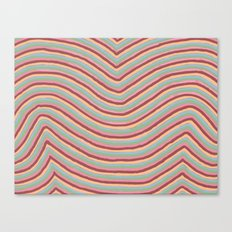 Colory Lines Canvas Print