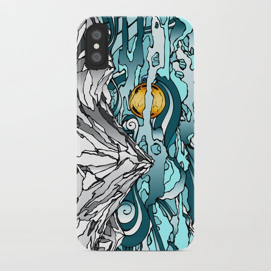 Turquoise Sky iPhone Case