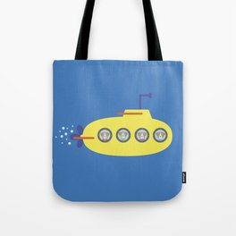 The Beagles - Yellow Submarine Tote Bag