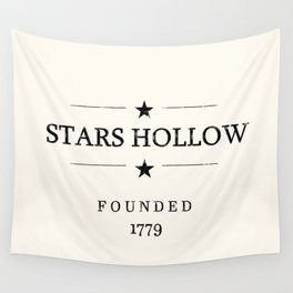 Stars Hollow Sign Wall Tapestry