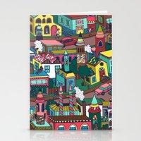 good morning Stationery Cards featuring Good Morning! by Valeriya Volkova