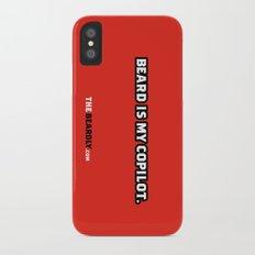 BEARD IS MY COPILOT.  Slim Case iPhone X
