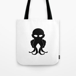 Lovecraftian Styled Octopus Logo Tote Bag