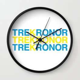 TRE KRONOR Swedish Flag Wall Clock