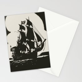 Black pearl Stationery Cards