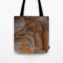 Fox. Tote Bag