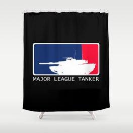 M1 Abrams - Major League Tanker Shower Curtain