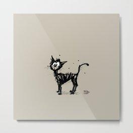 cat stink Metal Print