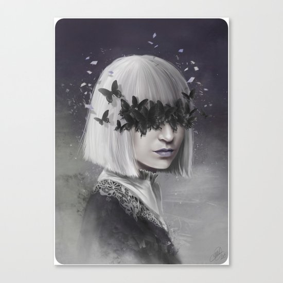 100 Forms of Fear / Sia Canvas Print