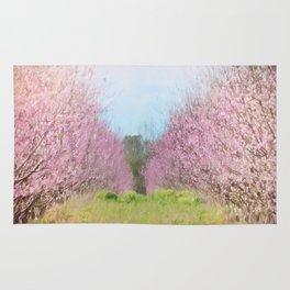 Peach Orchard Rug