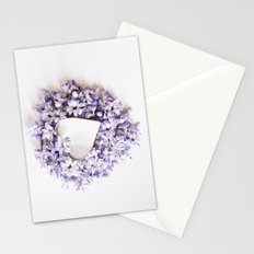 Hyacnth Heart Stationery Cards