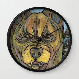 Junkyard Dog Wall Clock