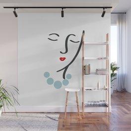 Simply She Wall Mural