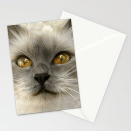 """Cute Kitty (Love cats)"" Stationery Cards"