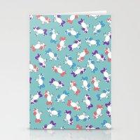 unicorns Stationery Cards featuring Unicorns! by Kashidoodles Creations