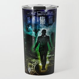 time traveller v2 Travel Mug