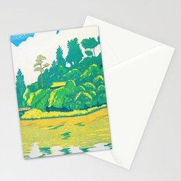 Shakujii, Sanpo Temple, Pondside - Digital Remastered Edition Stationery Cards