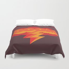 With One Magic Word... Duvet Cover