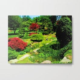 Colour Metal Print