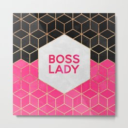 Boss Lady Metal Print