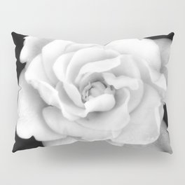 Gardenia Black and White Pillow Sham
