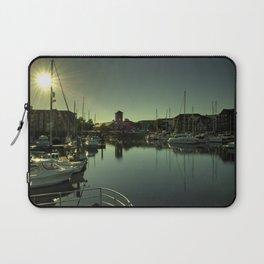 Swansea Docks Reflections Laptop Sleeve