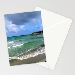 green seascape Stationery Cards
