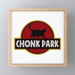 Chonk Park Framed Mini Art Print