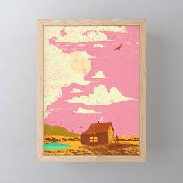 BARN REFUGE Framed Mini Art Print