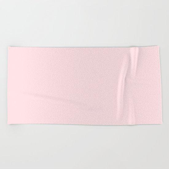 Simply Pink Flamingo Beach Towel