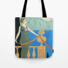 George Barbier Isola Bella c1932 Tote Bag