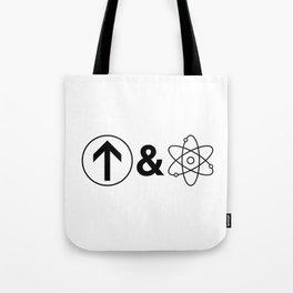 Up&Atom. Tote Bag