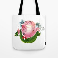 The Music Critic Tote Bag