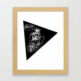 Kamen Rider Papahrika Framed Art Print