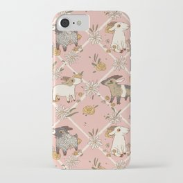 goat pattern 2 iPhone Case