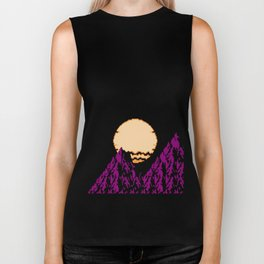 DEEP SUNSET Biker Tank