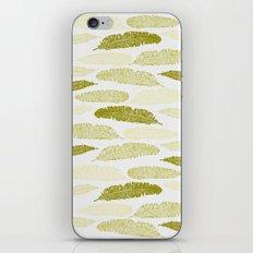 Feathers - Sage iPhone & iPod Skin