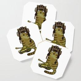 Battle Trooper Cat Coaster