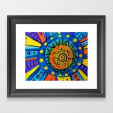 Sun Day Framed Art Print