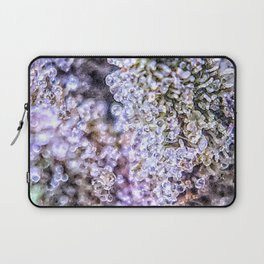 Top Shelf Grand Daddy Purple Close Up Buds Trichomes View Laptop Sleeve