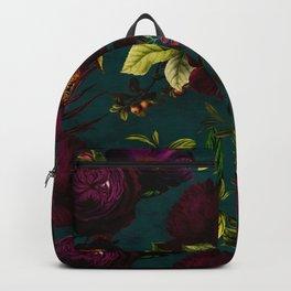 Before Midnight Vintage Flowers Garden Backpack