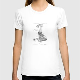 Shoe Horn Reinvention Drawing T-shirt