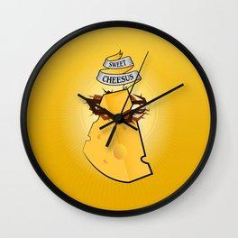 Sweet Cheesus Wall Clock