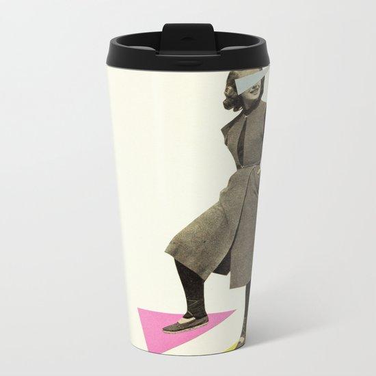 Shapely Figure Metal Travel Mug