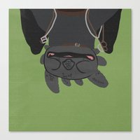 toothless Canvas Prints featuring Toothless by Raquel Segal