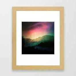 Scottish Mountains Framed Art Print