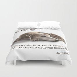 "Canna ""Missing You"" Duvet Cover"