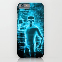 Virtual Reality User iPhone Case
