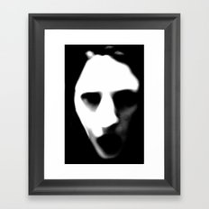 Mute Framed Art Print
